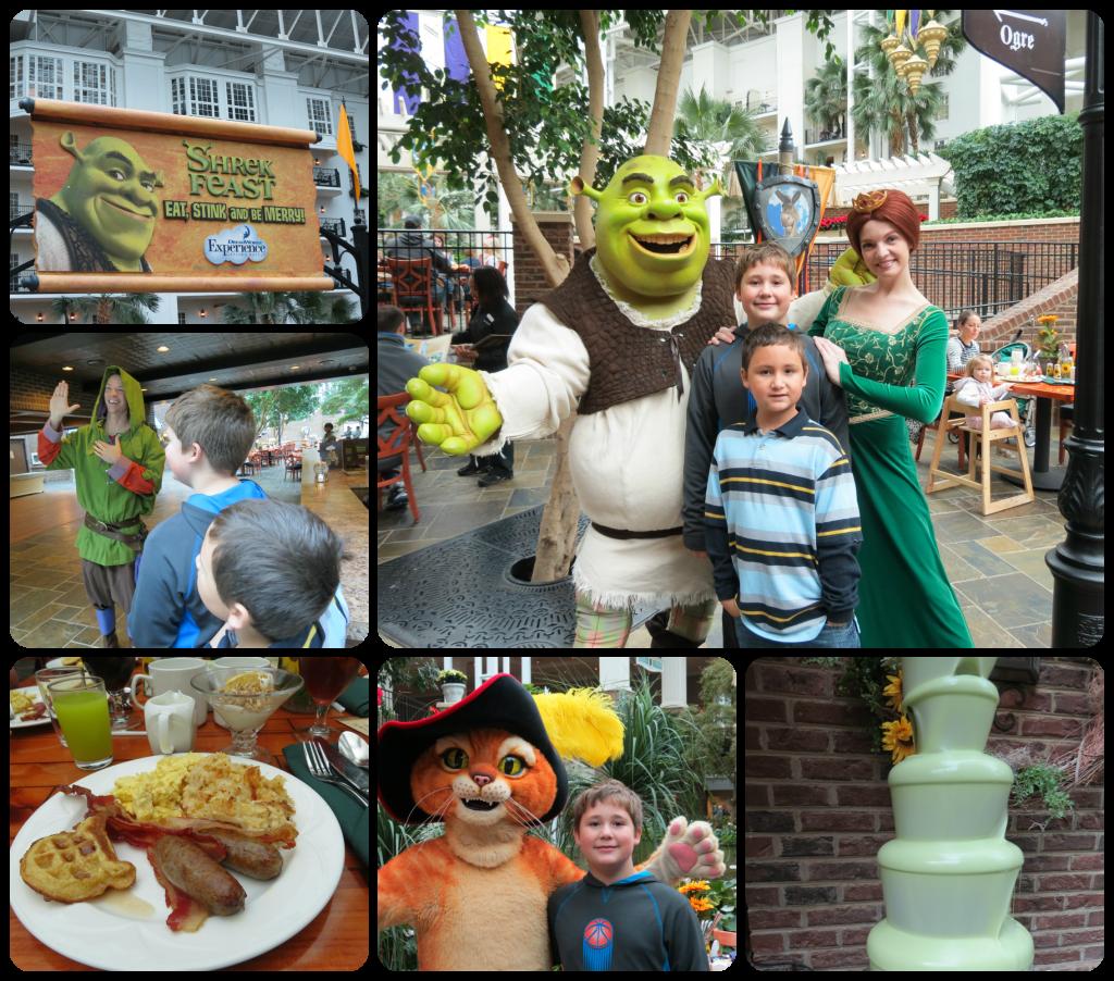 Shrek Feast at ICE