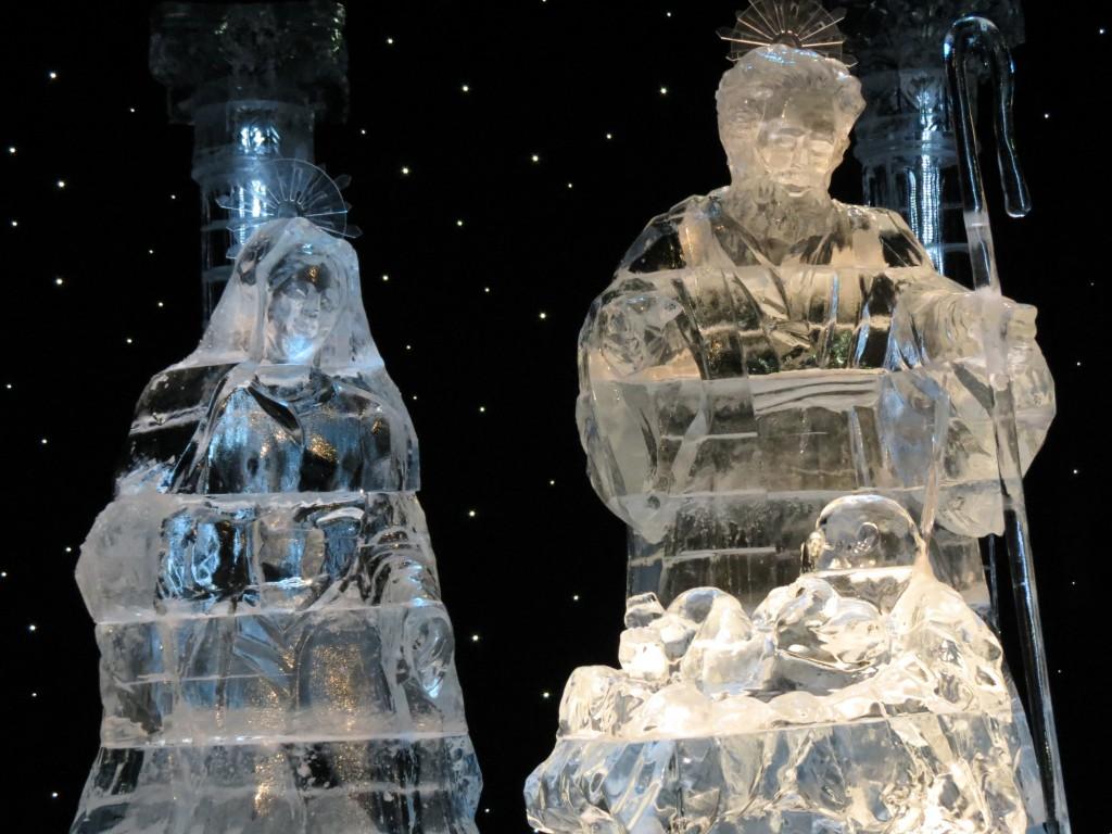 gaylord palm ICE nativity scene
