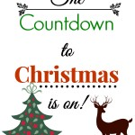 Easy Countdown to Christmas Garland