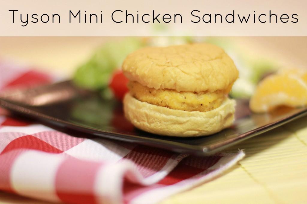 tyson mini chicken sandwich