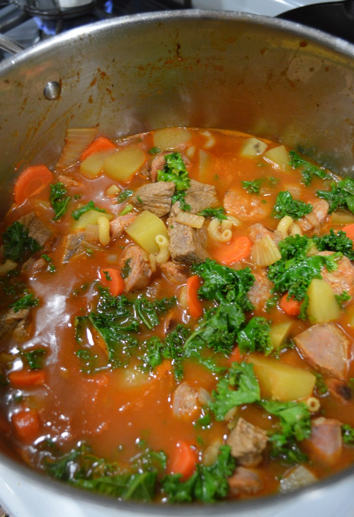 Portuguese Chourico Stew