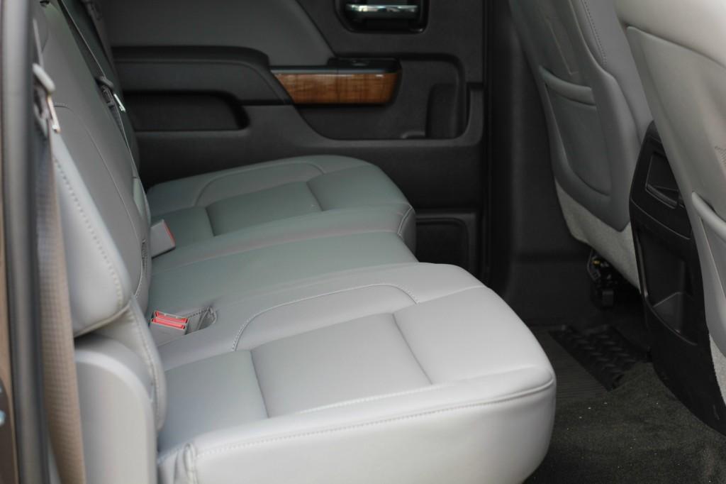 gmc backseat