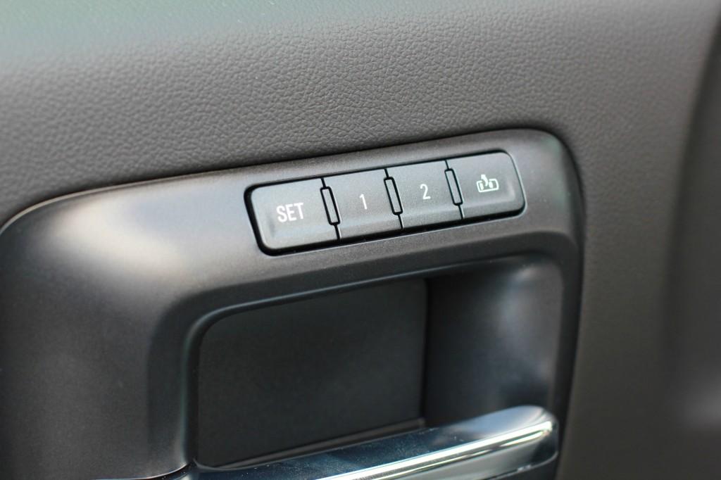 gmc seat settings