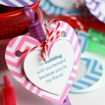 Easy Valentine's Day Bubble Favors + Printable