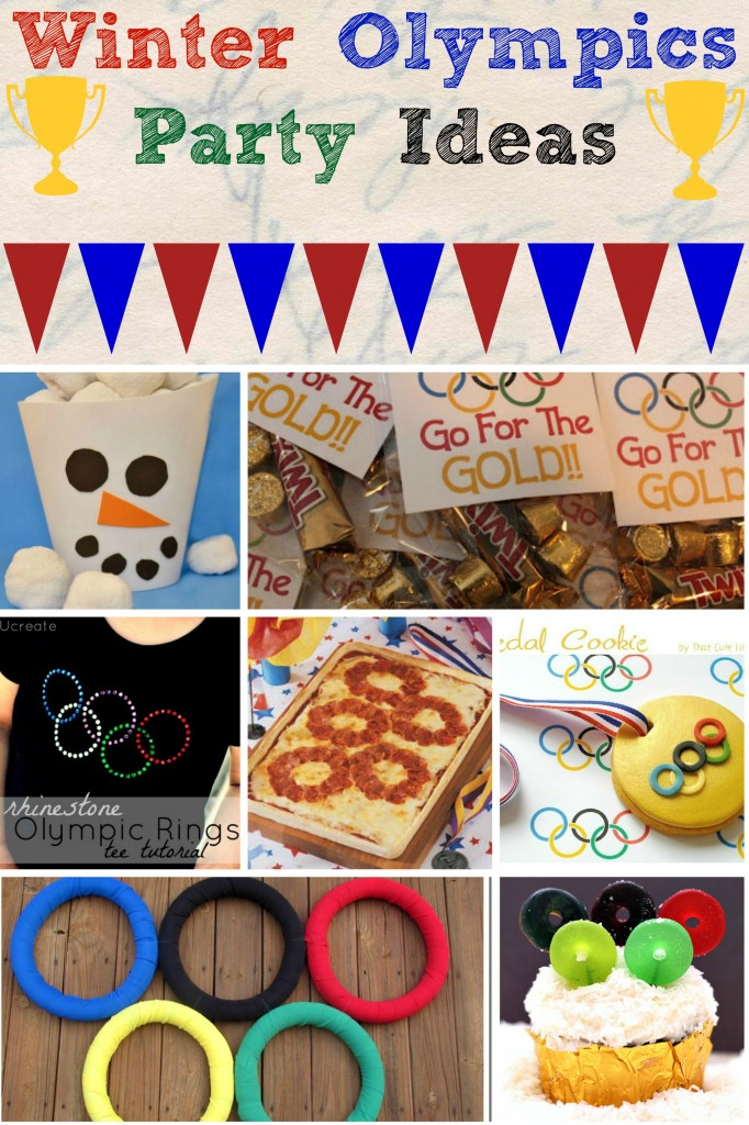 Rice Krispies Olympic Torch + Winter Olympics Party Ideas