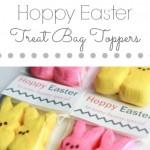 Hoppy Easter Treat Bag Toppers