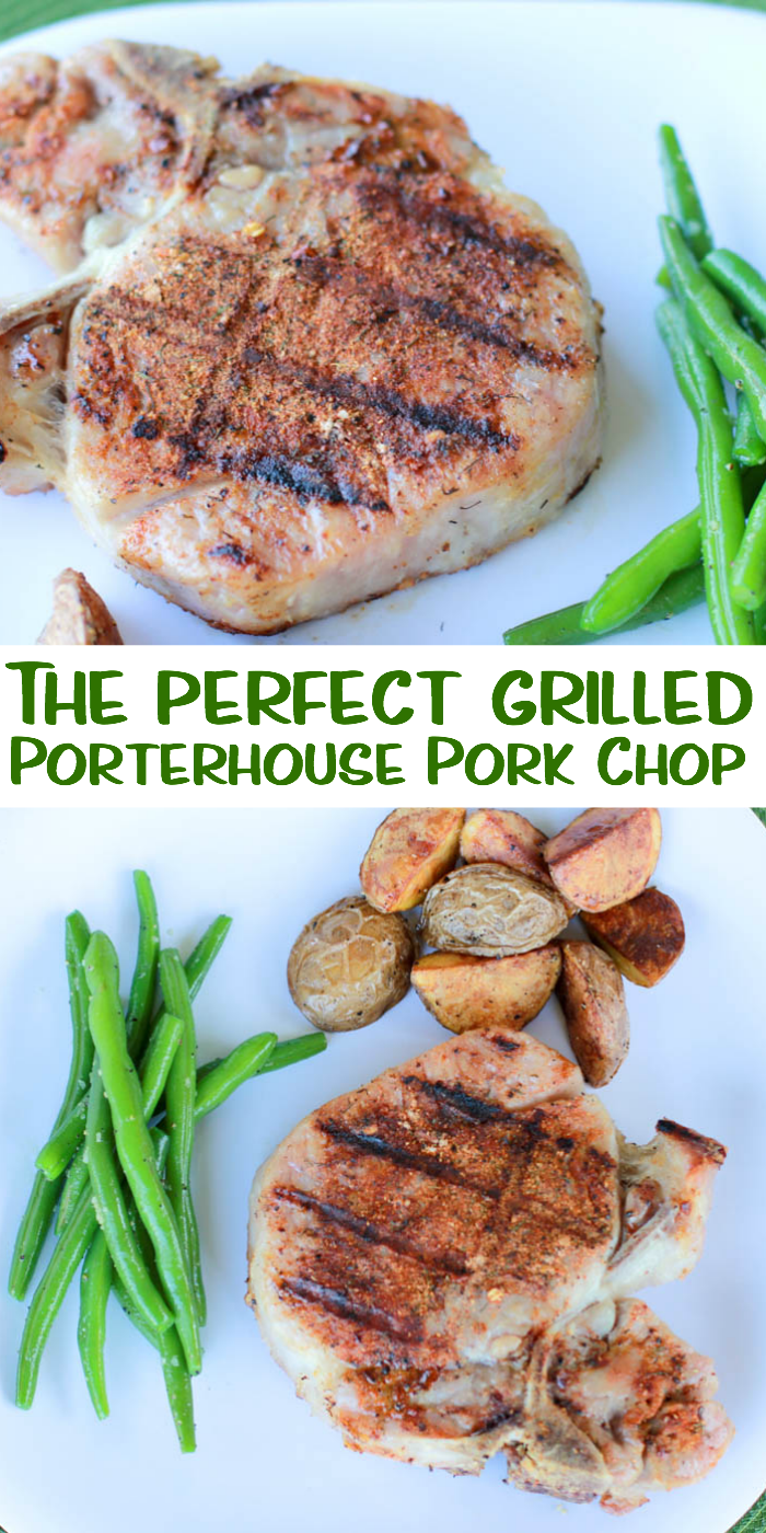 Making the perfect grilled Porterhouse pork chop is easier than you probably think. See how easy it is to cook this cut of pork on the grill.