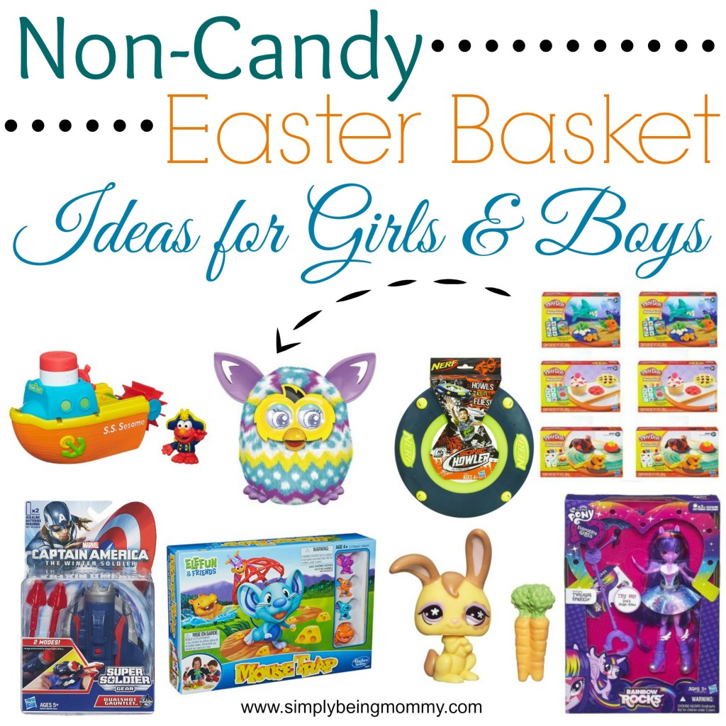 Creative ways to celebrate easter with your kids simply being mommy non candy easter basker ideas negle Images