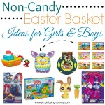 Non-Candy Easter Basket Ideas for Girls & Boys