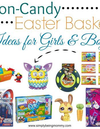 non candy easter basket ideas