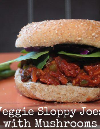 Veggie sloppy joes