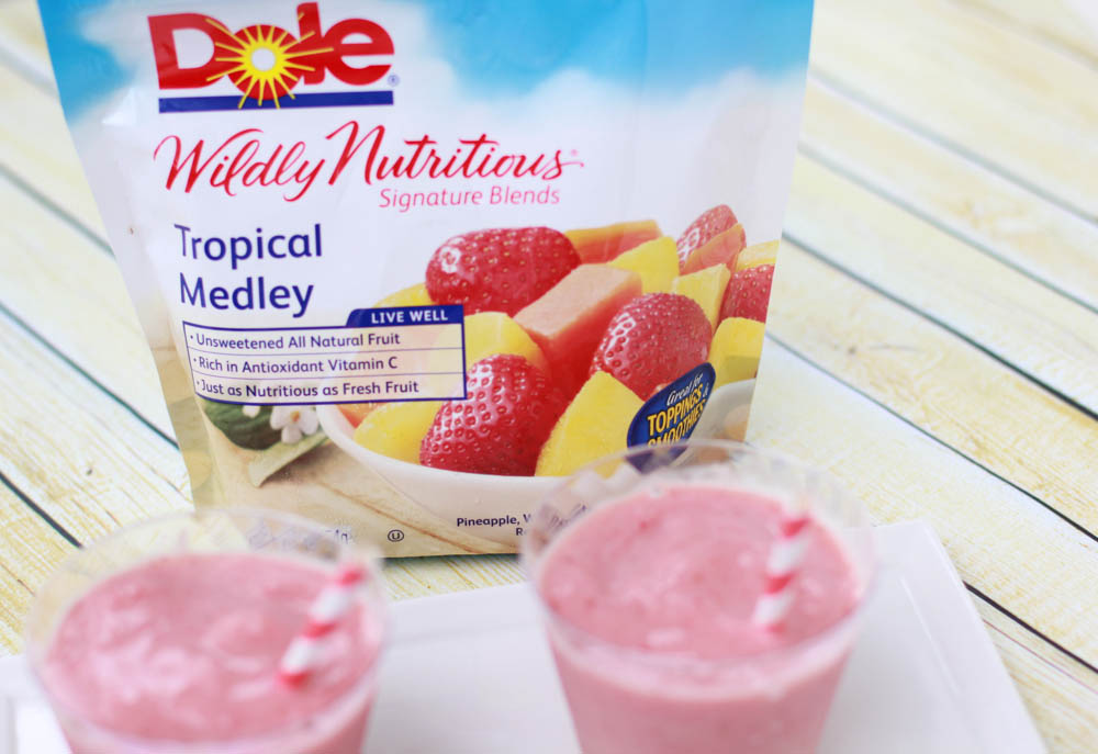 Cool down and enjoy one of these tropical fruit smoothies.