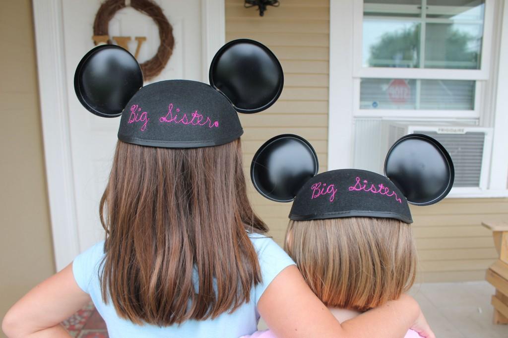 Big Sister Mickey Mouse Ears