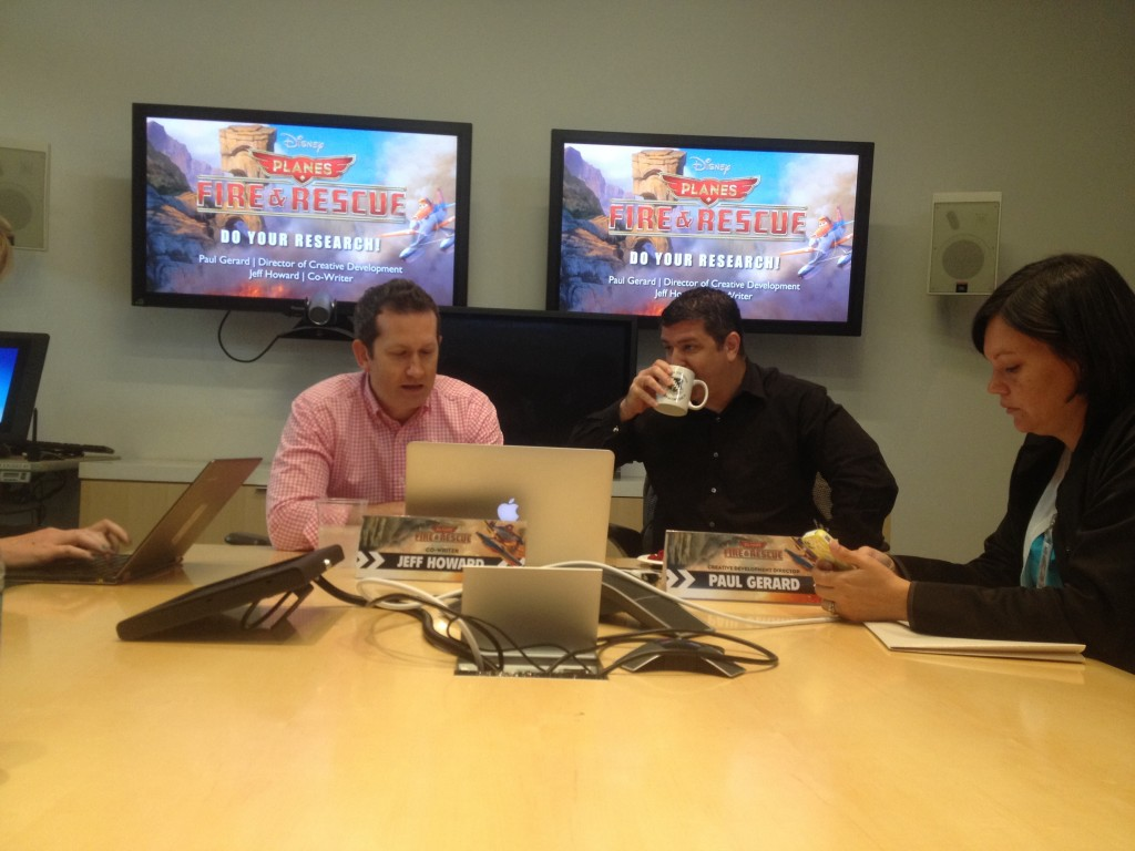 Planes fire and rescue research