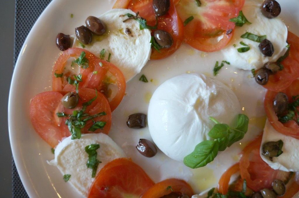 attimi royal caprese salad in nice, france