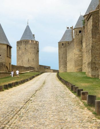 castle in carcassonne france
