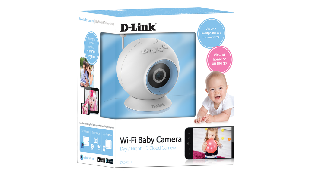 DLink wireless baby video baby monitor
