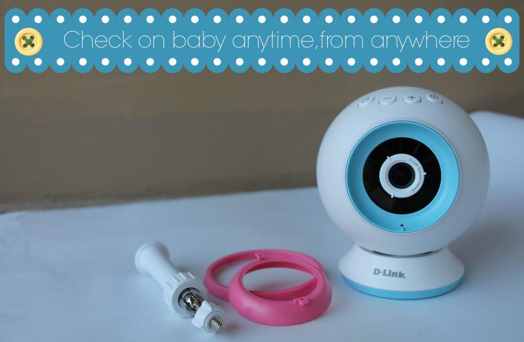 DLink wireless video baby monitor