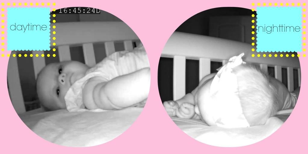 dlink video baby monitor can be used night and day