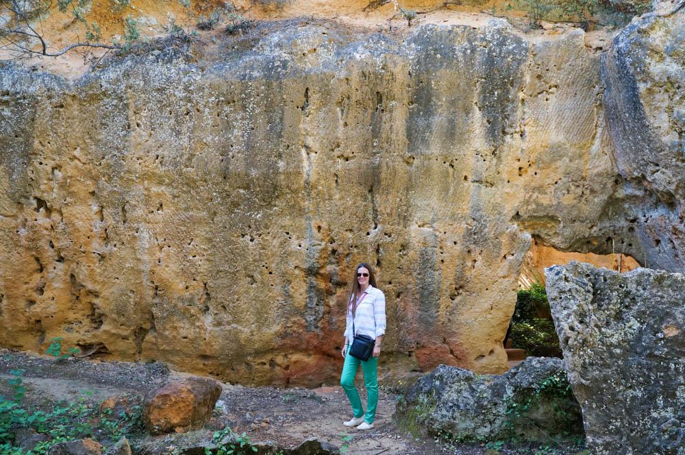 bibemus quarry in aix en provence france