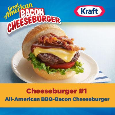great american bacon cheeseburger