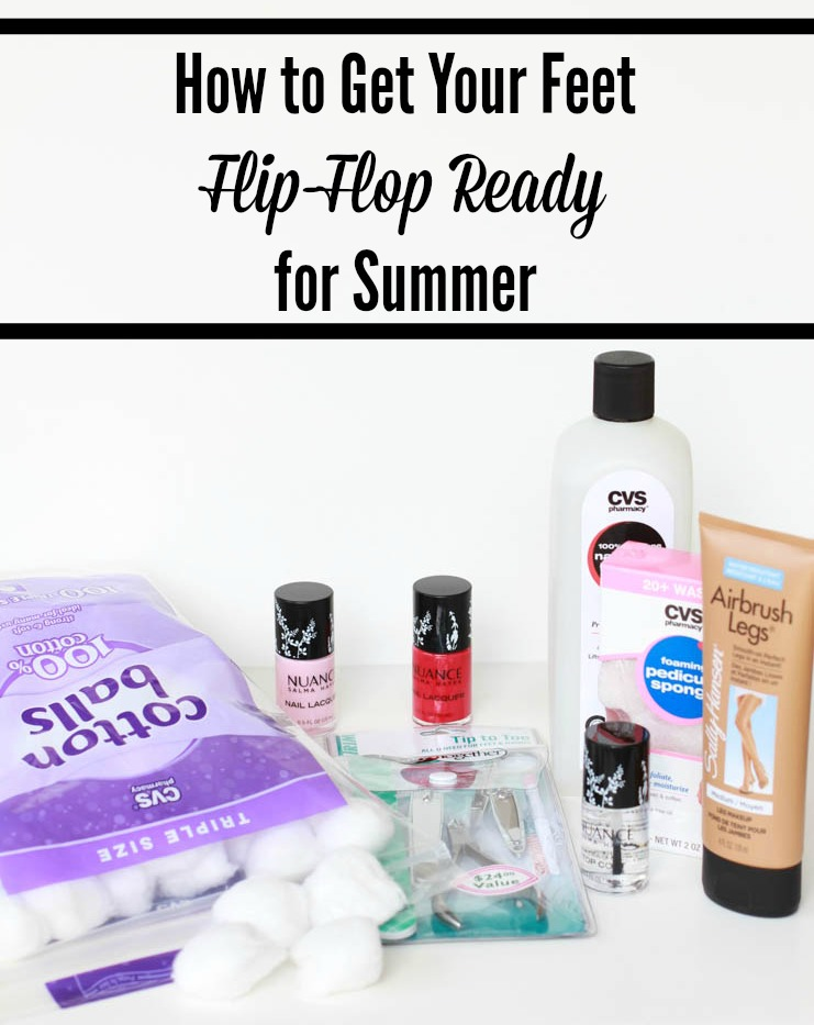 how to get your feet flip flop ready for summer