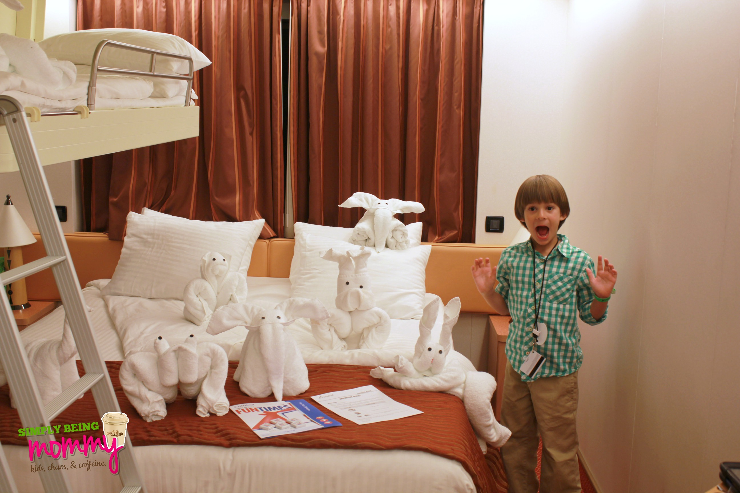 A Look Inside A Carnival Magic Ocean View Stateroom