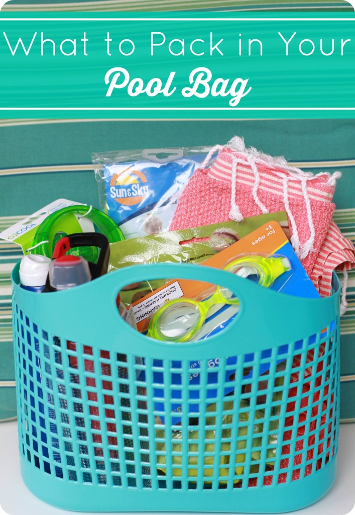 what to pack in your pool bag