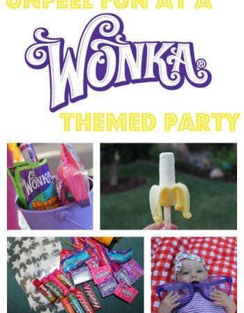 wonka themed party