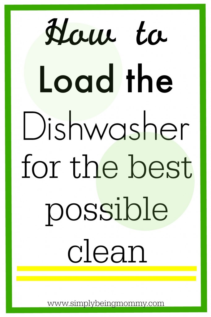 Learn how to load the dishwasher to ensure you are getting the best possible clean each and every time you run the dishwasher.