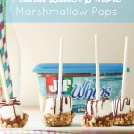 Peanut Butter S'more Marshmallow Pops