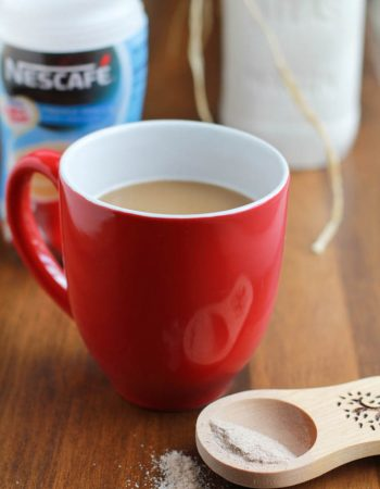 nescafe with coffemate 2-in-1 coffee and creamer combination