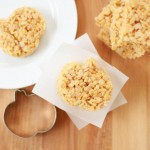 pumpkin spice rice krispies treat