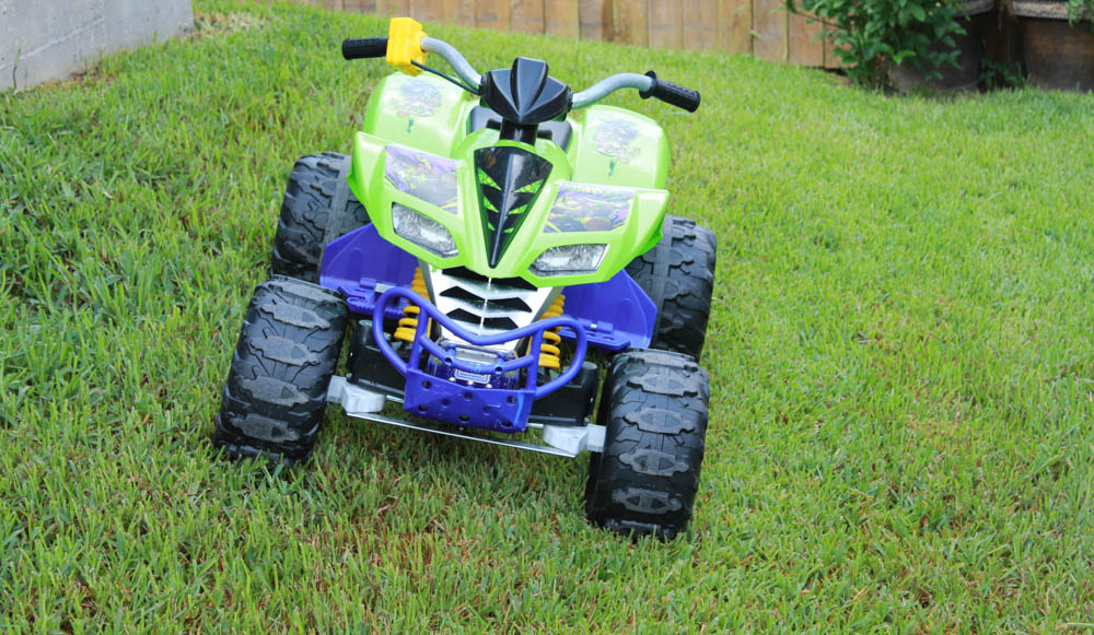 Fisher-Price Teenage Mutant Ninja Turtles Kawasaki KFX Power Wheels   Simply Being Mommy