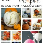 15 Pretty Pumpkin Ideas for Halloween