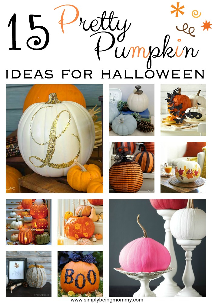 15 pretty pumpkin ideas for halloween