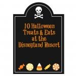 Halloween Treats at the Disneyland resort