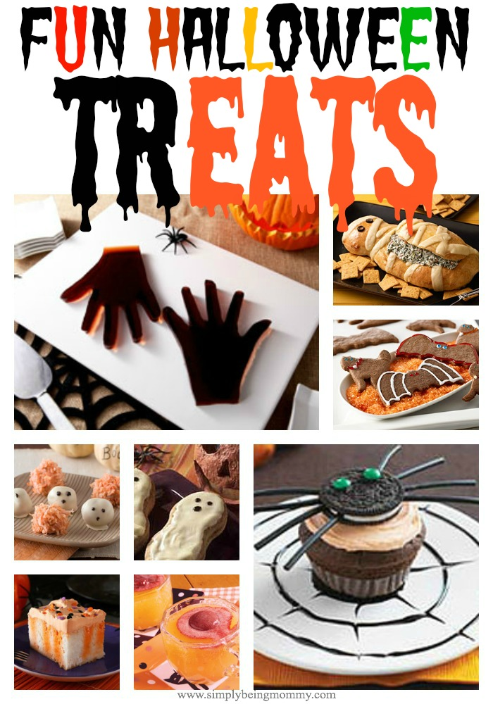 Halloween calls for fun treats. Check out this list of fun Halloween treats perfect for all your Halloween parties.
