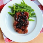 Balsamic Glazed Pork Loin Chops