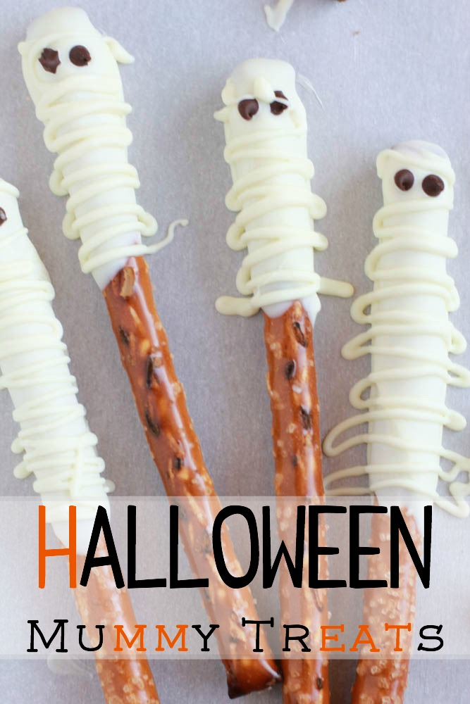 halloween mummy treats make a perfect halloween treat