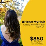 #HeartMyHair-Twitter-Party-11-25-1pmEST
