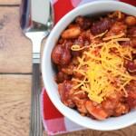 italian sausage chili