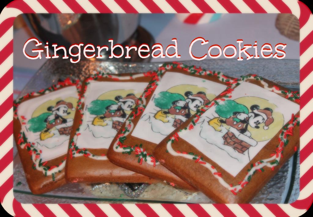 Disneyland Gingerbread Cookies Recipe