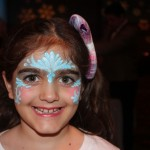 Face painting at the disneyland resort