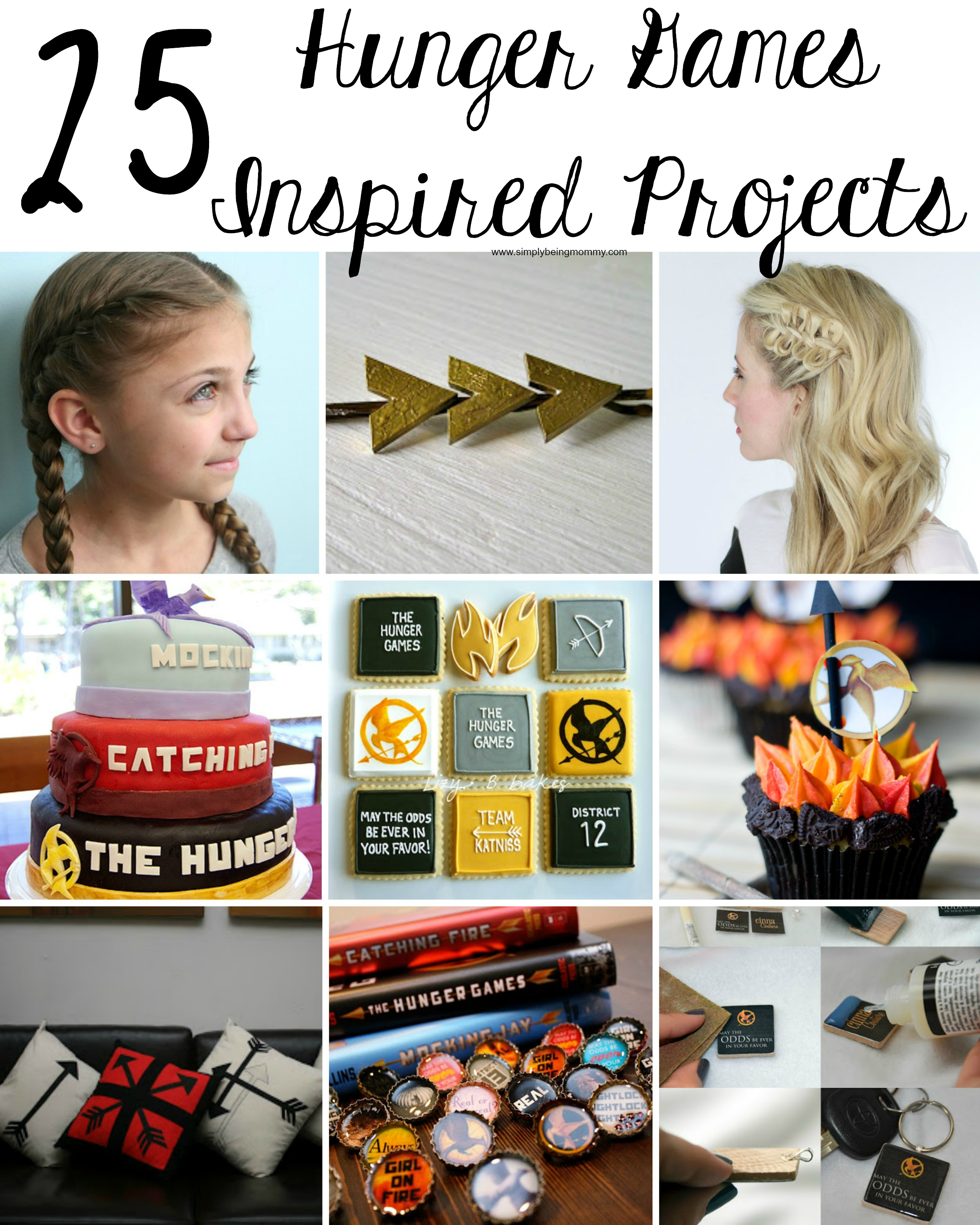 25 Diy Decorating Projects That You Are Inspired To Do: The Hunger Games-Inspired Projects
