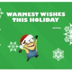 minions holiday card fandango