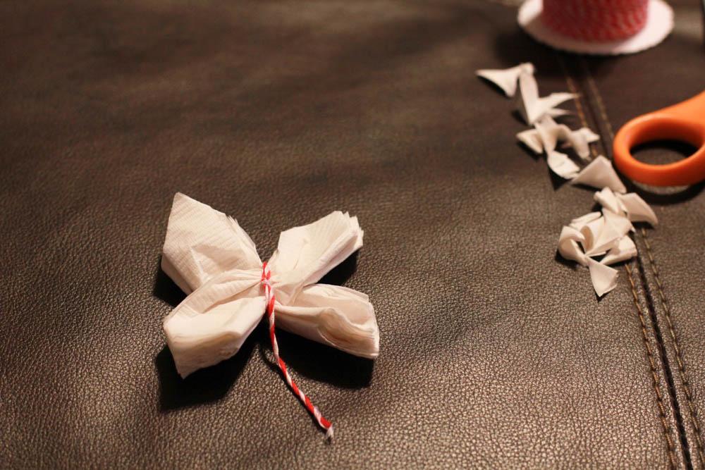 Paper Napking Flower Tutorial