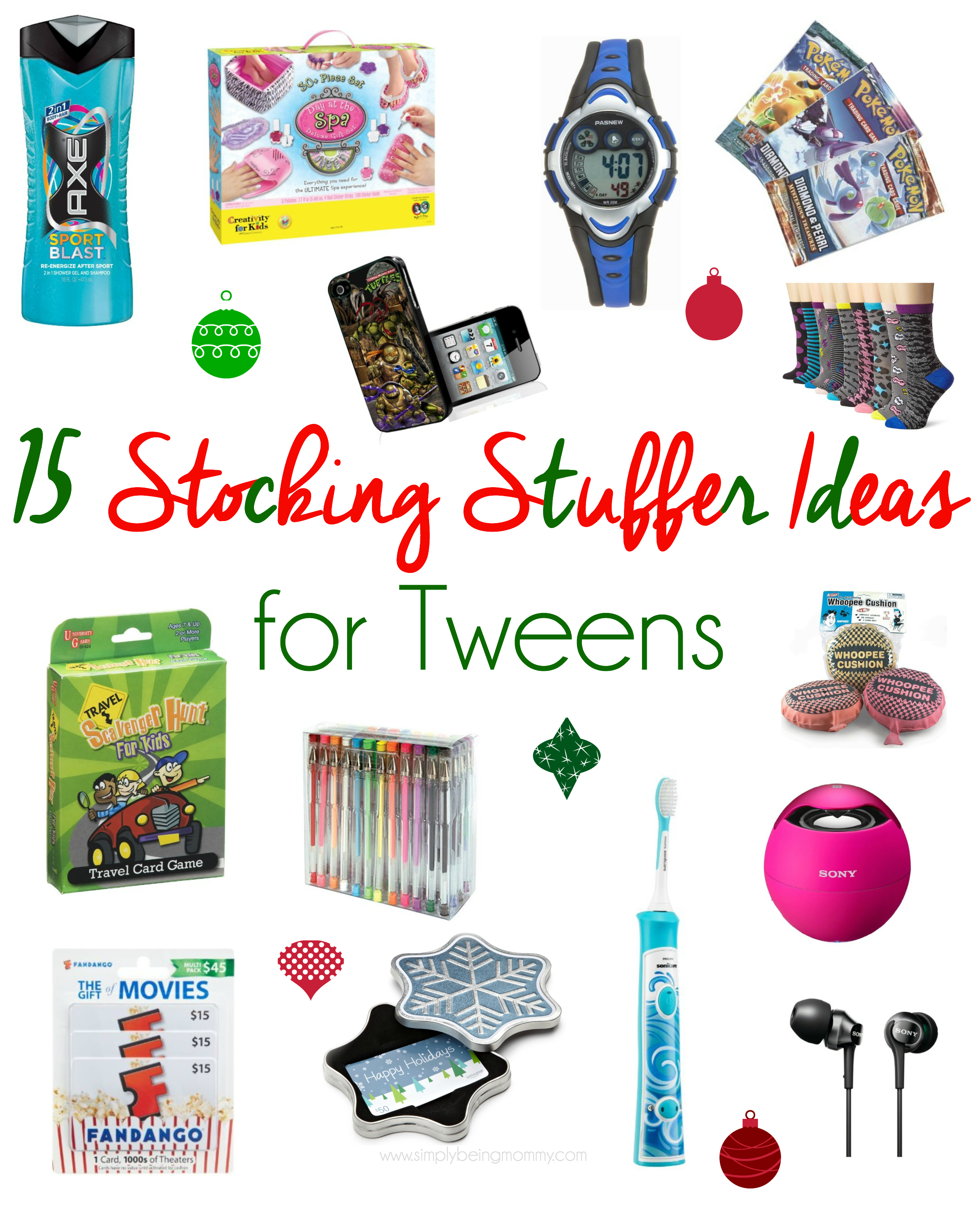 Stocking stuffer ideas for tweens unique stocking stuffer for Good ideas for stocking stuffers