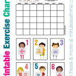 Melanie shares more about Fitness for Kids and how these printable exercise charts can help.