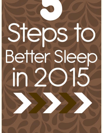 5 Steps to Better Sleep in 2015